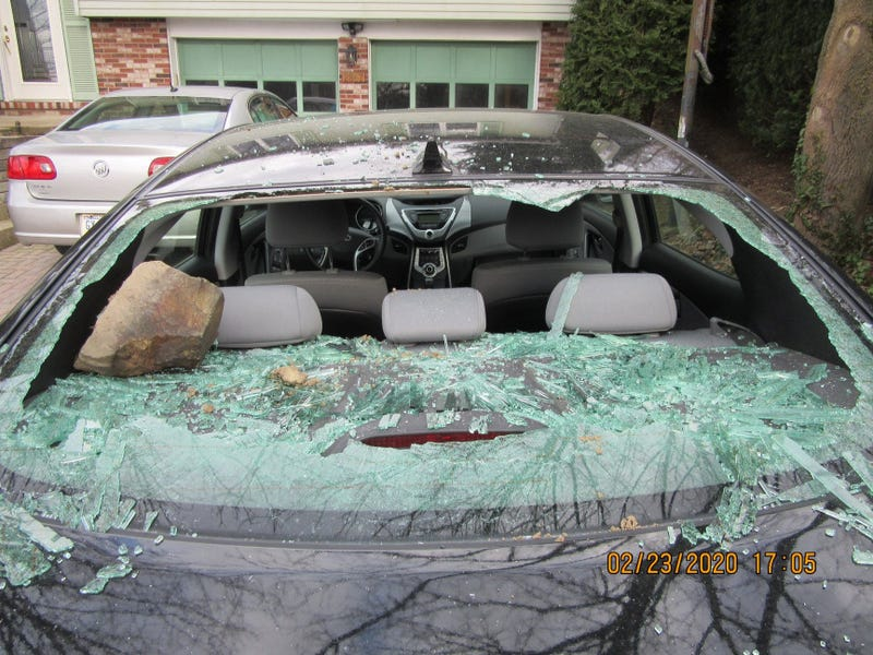 Vehicle vandalized in South Park