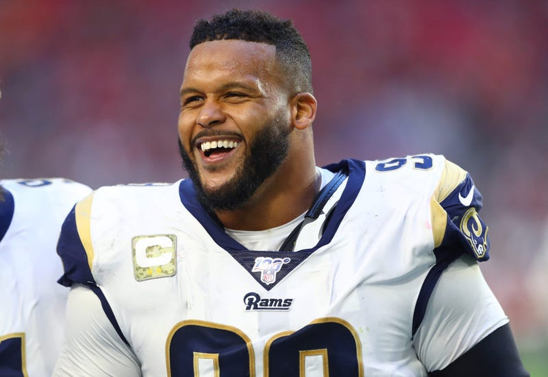 Aaron Donald Goes Back To School And Back To The Dungeon