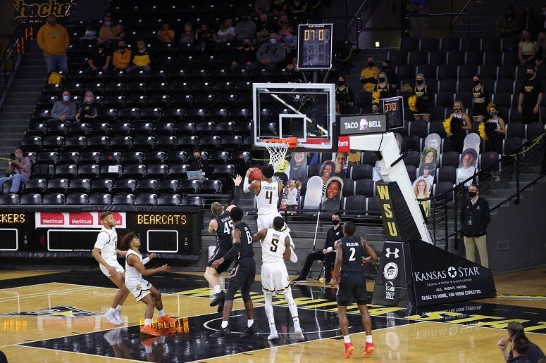 Shockers score big win over Cincinnati
