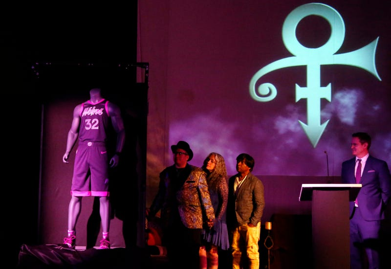 Minnesota Timberwolves unveil Prince-inspired uniform 0ef41b3a9