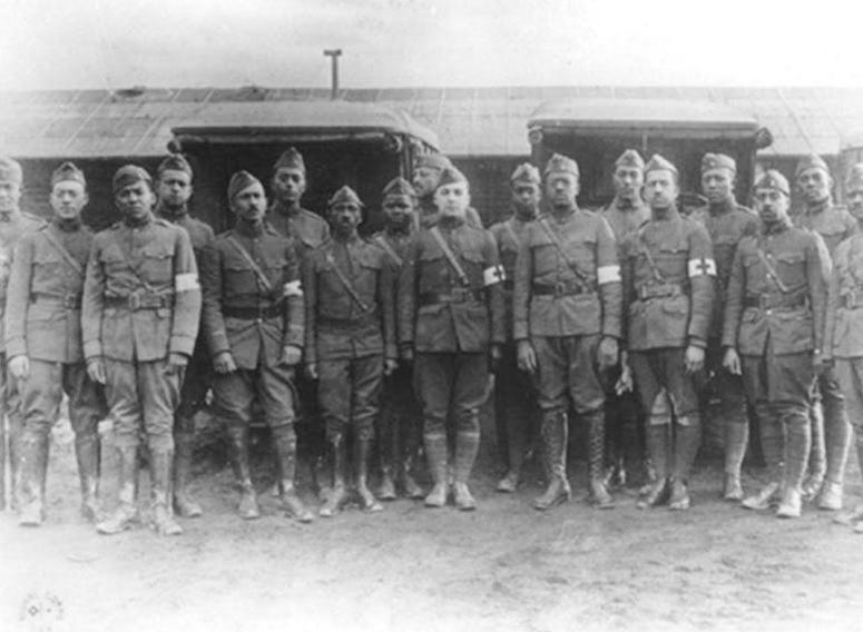 African-American dentists in the Dental Reserve Corps during World War I