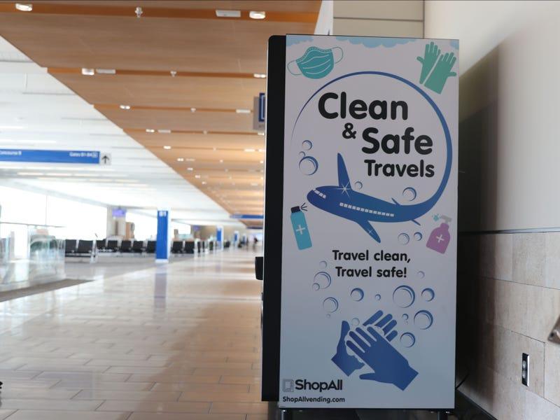 GSP International Airport PPE Vending Machine - GSP