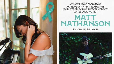 Alaina's Voice Foundation and BottleRock Presents A Concert Benefitting Local Mental Health Services