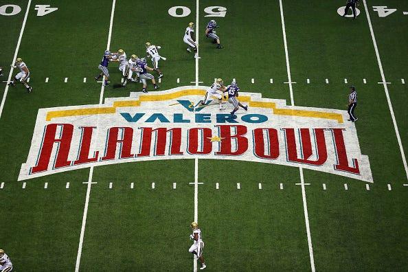 The 2015 Alamo Bowl in San Antonio.