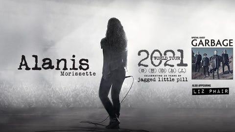 Alanis Morissette 2021 World Tour
