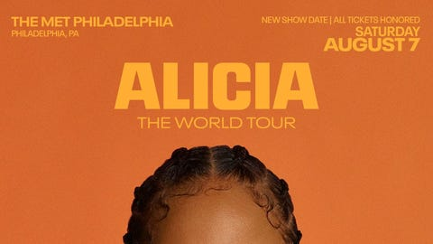Alicia Keys 'The World Tour'