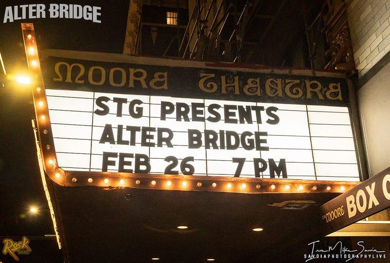Alter Bridge - Moore Theater 2.26.20