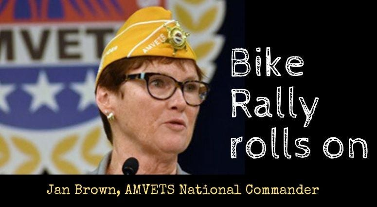 AMVETS National Commander Jan Brown