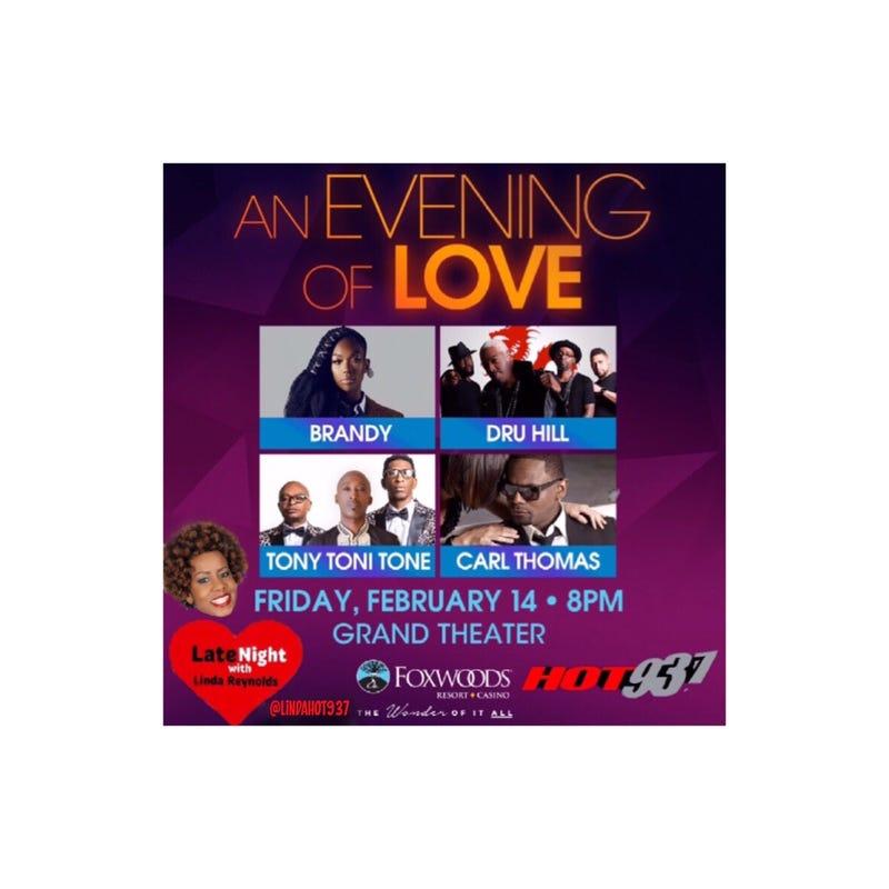 #TBT #LNL Spotlight on An Evening of Love Music at Foxwoods