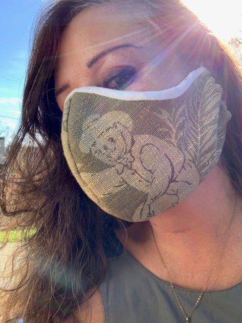 WORDs Anne Robards; Homemade Face Mask