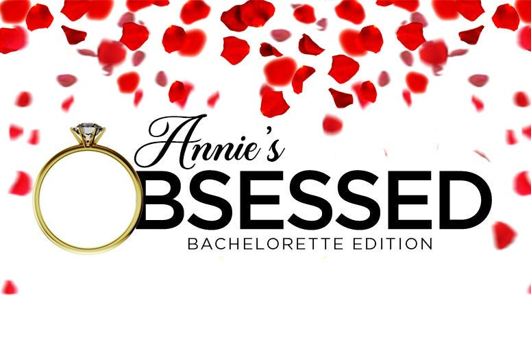 annie obsessed bachelorette