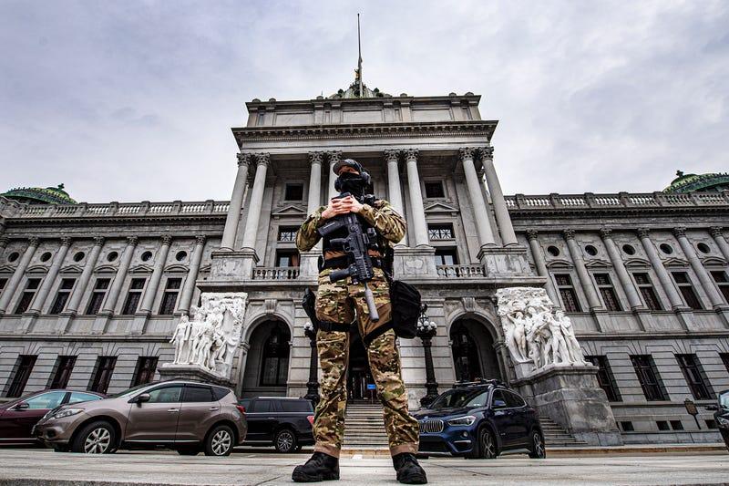 Capitol Breach Statehouses Pennsylvania