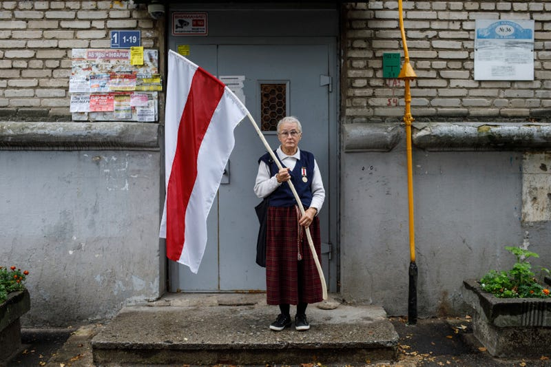 Belarus Protesting Retirees Photo Gallery