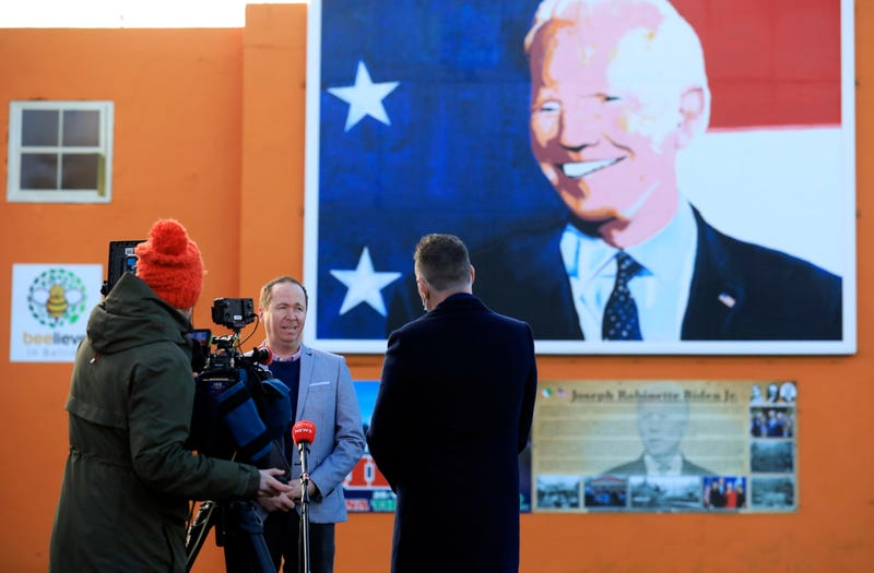 APTOPIX Ireland Biden Inauguration