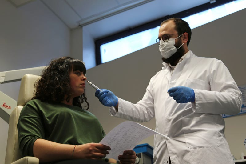 Virus Outbreak France Deadened Senses