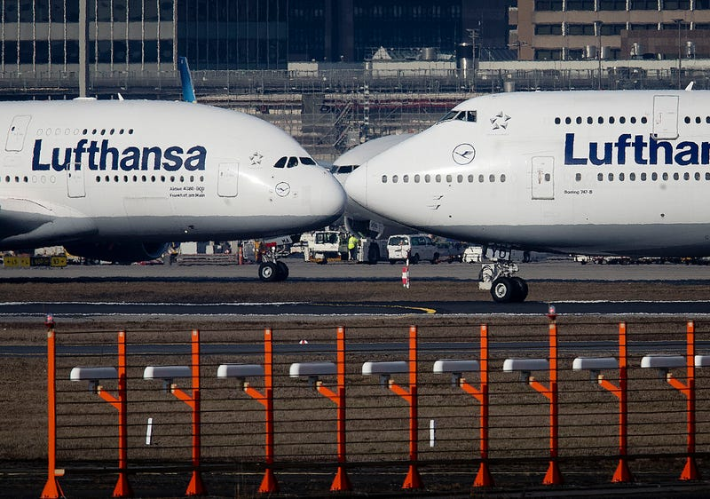 Europe US Airbus Boeing