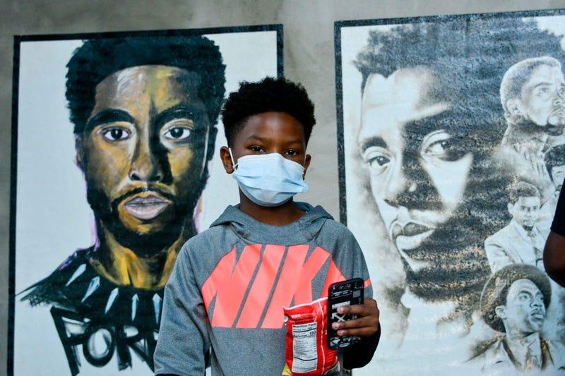 Chadwick Boseman Art Exhibit