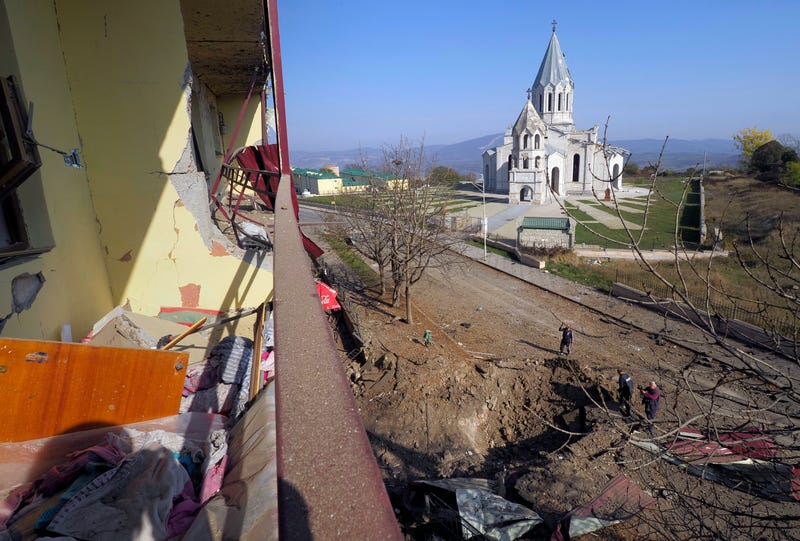 APTOPIX Armenia Azerbaijan