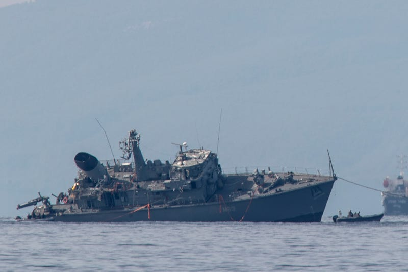 Greece Ship Collision
