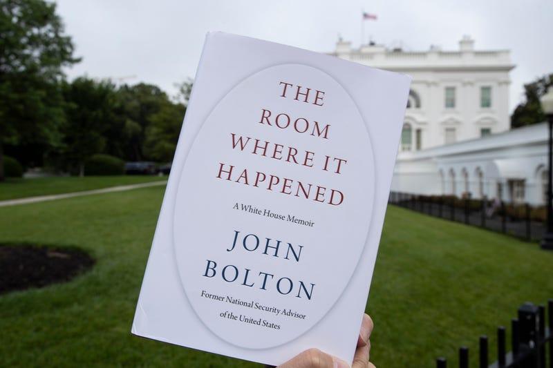 Trump Bolton Book