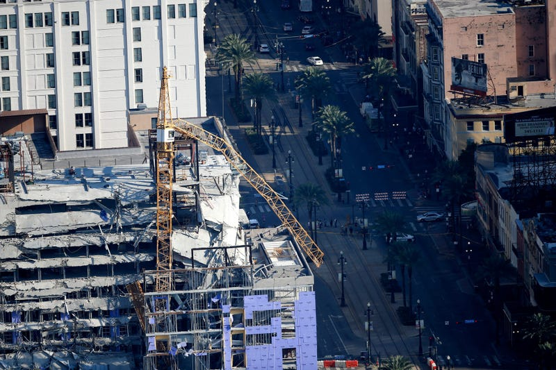 Hard Rock collapse site