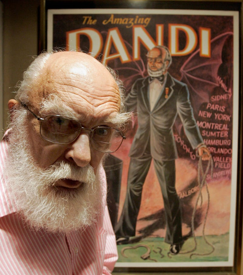 CORRECTION Obit Randi