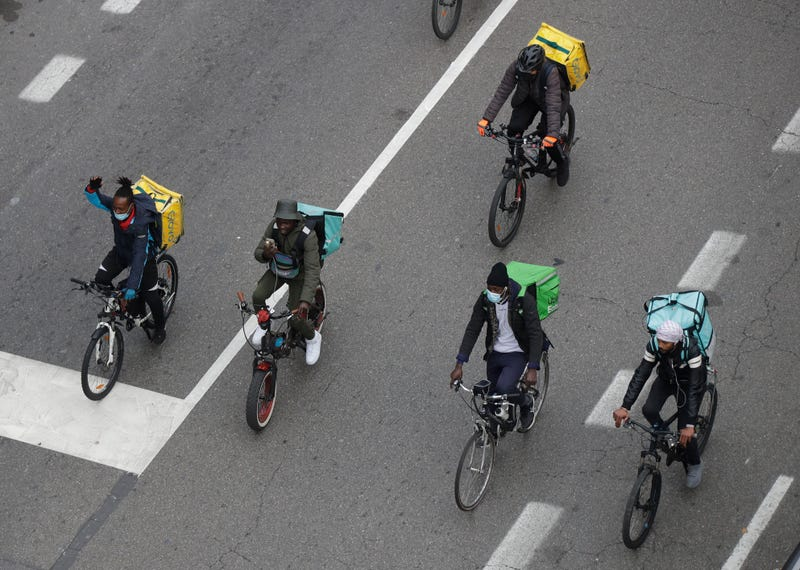 Italy Bike Delivery Probe