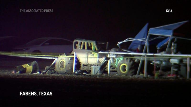 Texas Racetrack Crash