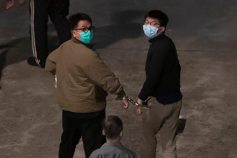 APTOPIX Hong Kong Politics