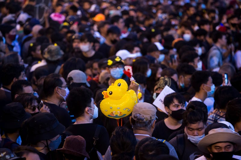 APTOPIX Thailand Protest