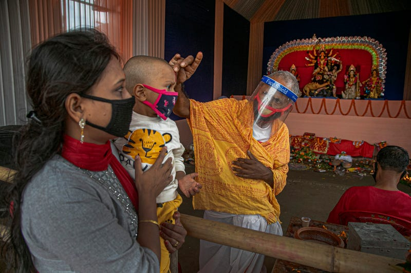 Virus Outbreak India Festivals