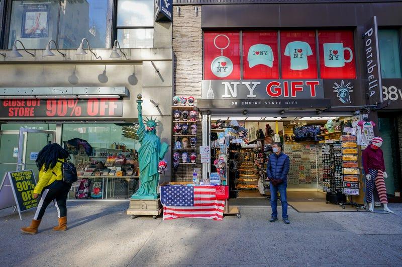 Virus Outbreak NYC Gift Shops