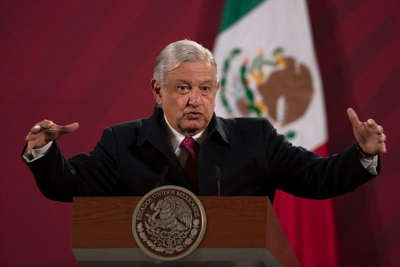 Virus Outbreak-Mexico-President