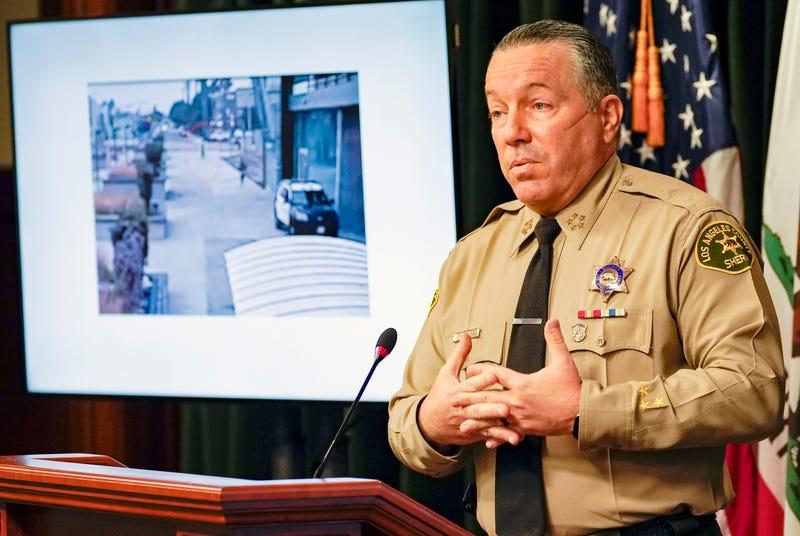 Deputies Shot-Reporter Arrested