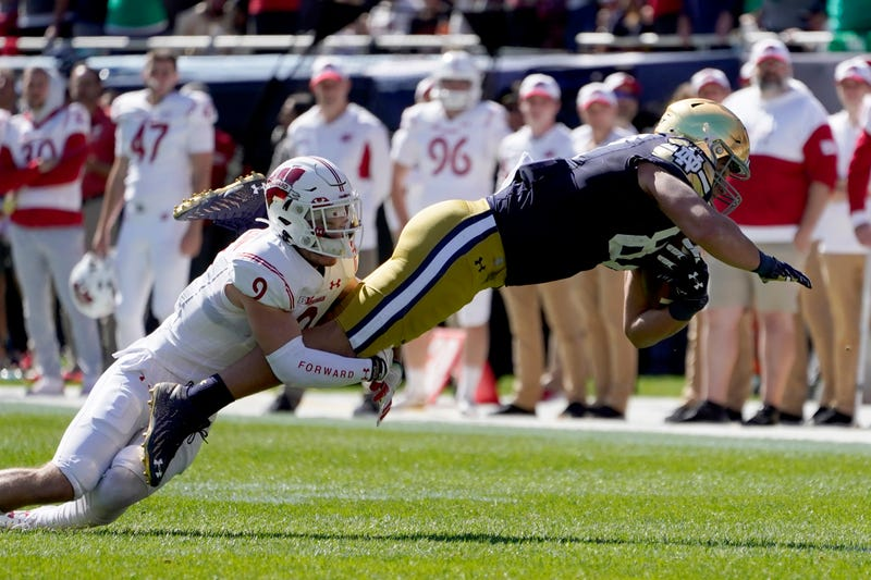 Notre Dame Wisconsin Football