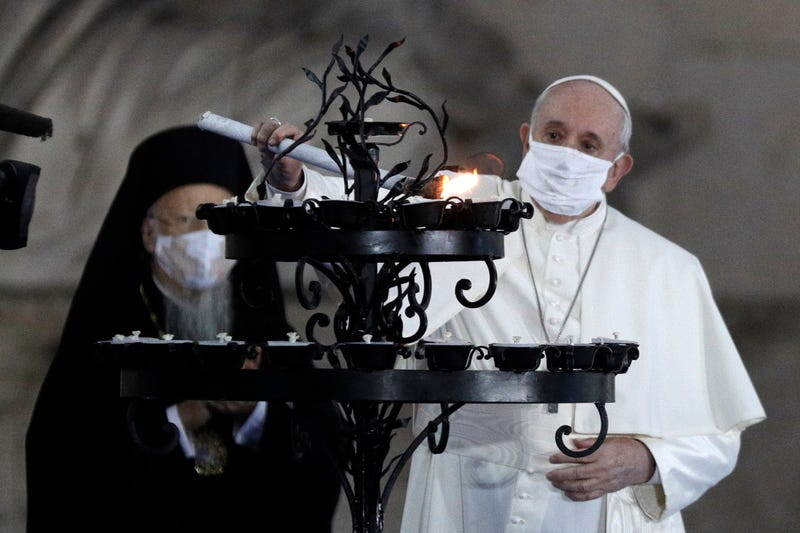Italy Pope Prayer For Peace