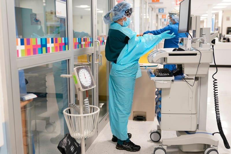 Virus Outbreak New York Preparedness