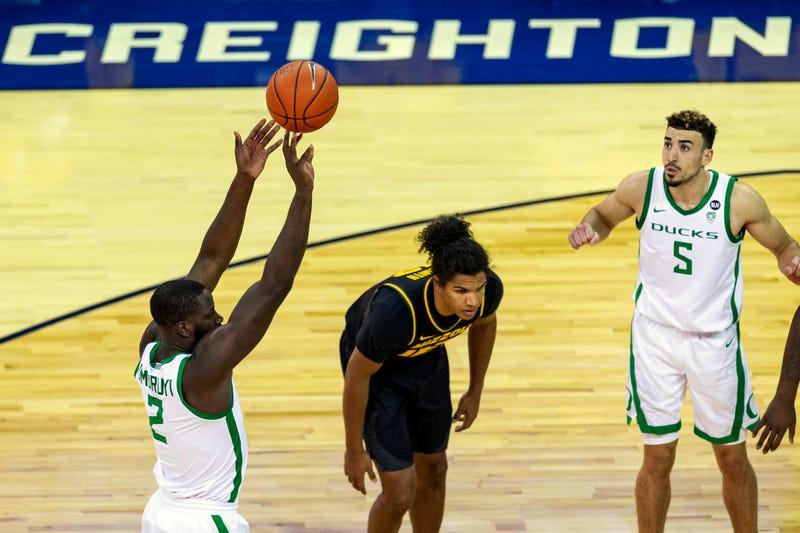 Missouri Oregon Basketball