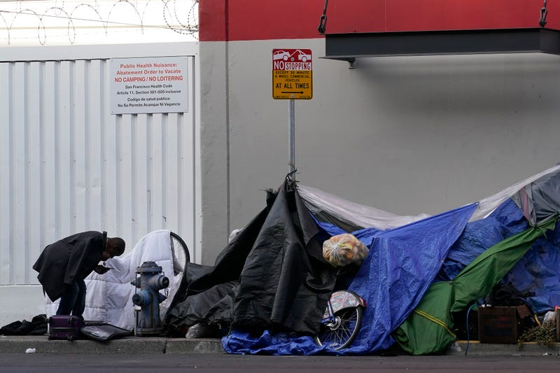 Virus Outbreak California Homeless