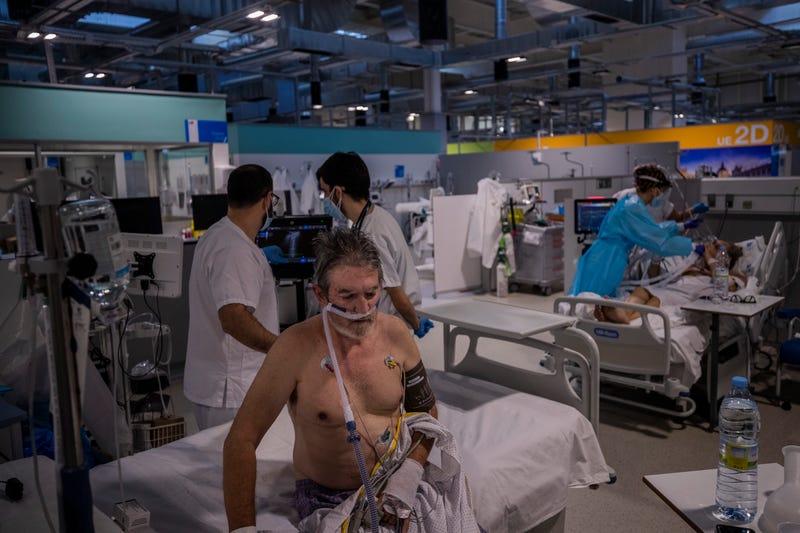 Spain Virus Outbreak Pandemic Hospital
