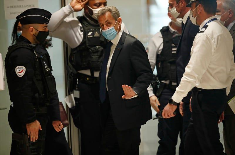 APTOPIX France Sarkozy