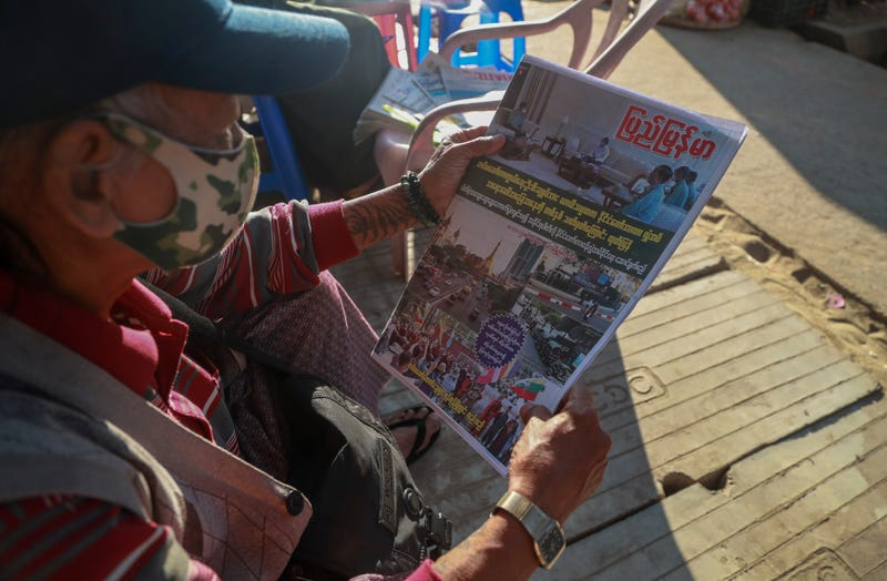 Myanmar Media Crackdown