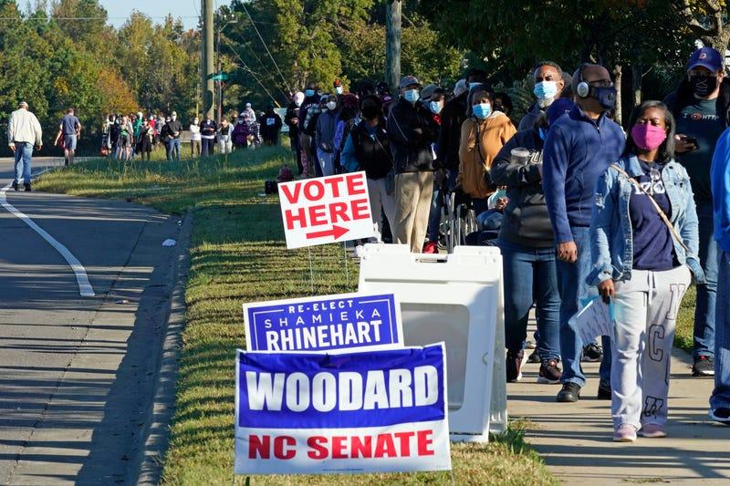 Election 2020 North Carolina Voting
