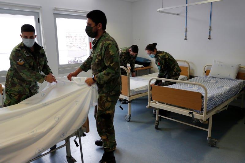 Virus Outbreak Portugal in Peril