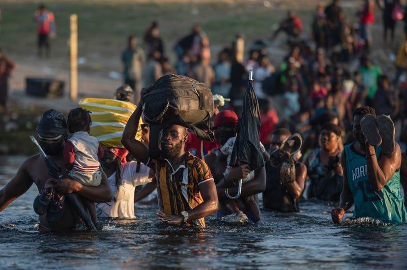 Mexico US Border Migrant Camp