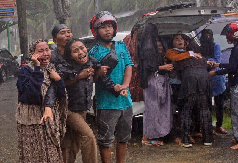 APTOPIX Indonesia Earthquake