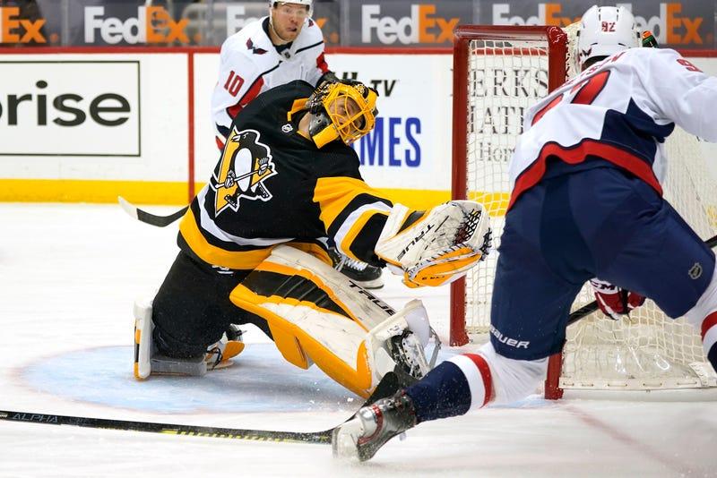 Capitals Penguins Hockey