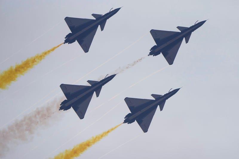 APTOPIX China Airshow