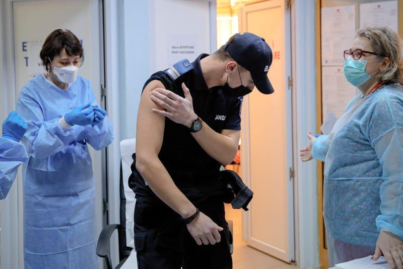 Virus Outbreak Eastern Europe Vaccines