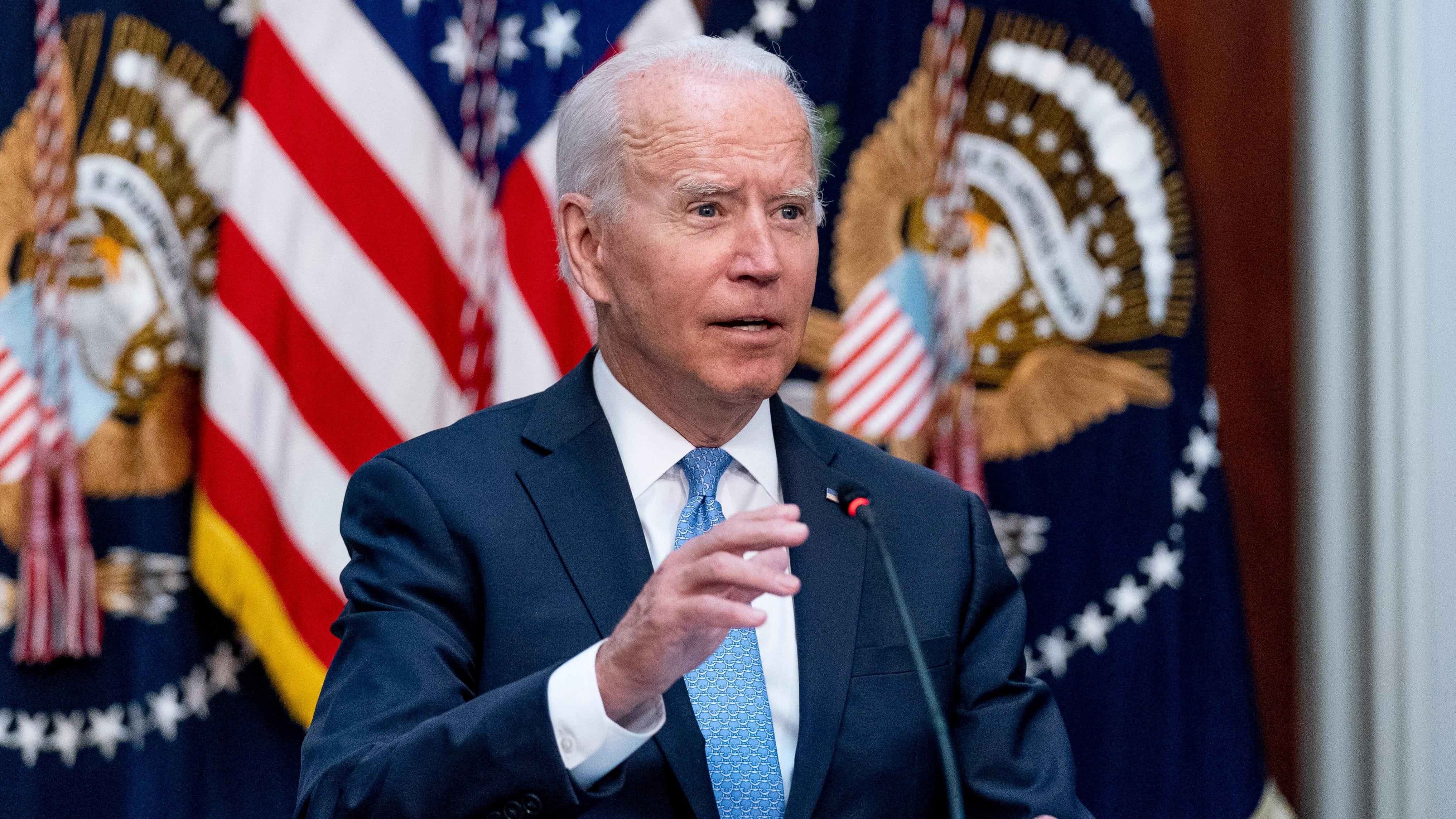 Biden, CEOs, biz leaders meet on COVID-19 vaccine mandates